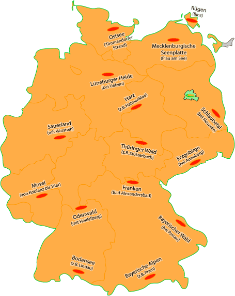 Deutschlandkarte [Imagemap]