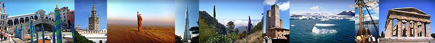 Fotos von verschiedenen unserer Reisen